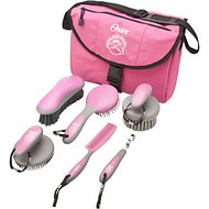 Oster Equine Care 7-Piece Grooming Kit for Horses, Pink
