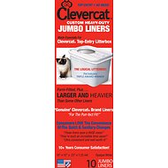 Clevercat Jumbo Litter Box Liners, 10 count