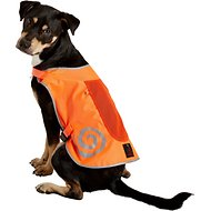 Ultra Paws Reflective Safety Vest for Dogs, Bright Orange, Large