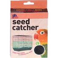 Prevue Pet Products Seed Catcher Cage Skirt, Color Varies, Large