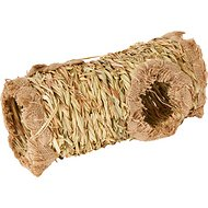 Prevue Pet Products Nature's Hideaway Grass Tunnel Small Animal Toy, 13.5-inch