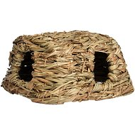Prevue Pet Products Nature's Hideaway Grass Hut Small Animal Toy, Medium
