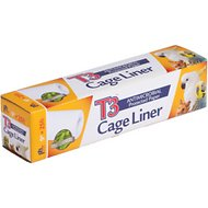 Prevue Pet Products T3 Antimicrobial Protected Paper Bird & Small Animal Cage Liner, 9