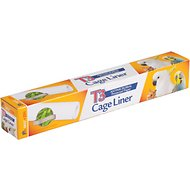 "Prevue Pet Products T3 Antimicrobial Protected Paper Bird & Small Animal Cage Liner, 14.5"" x 25'"
