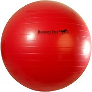 Horsemen's Pride Mega Ball Horse Toy, Red, 25-in