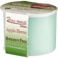 Horsemen's Pride Stall Snack Apple Flavored Horse Treat Refill