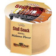 Horsemen's Pride Stall Snack Molasses Flavored Horse Treat Refill