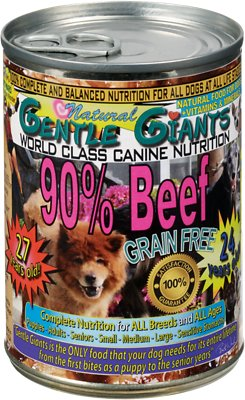 Beef Grain-Free Canned Dog Food