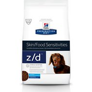 Hill's Prescription Diet z/d Skin/Food Sensitivities Small Bites Original Flavor Dry Dog Food, 7 lb bag