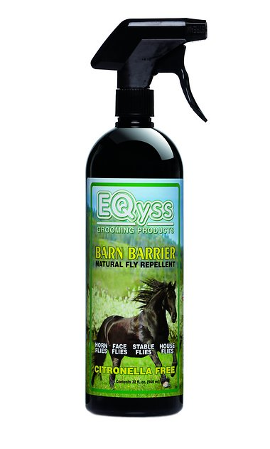 EQYSS GROOMING PRODUCTS Barn Barrier Natural Fly Repellent ...