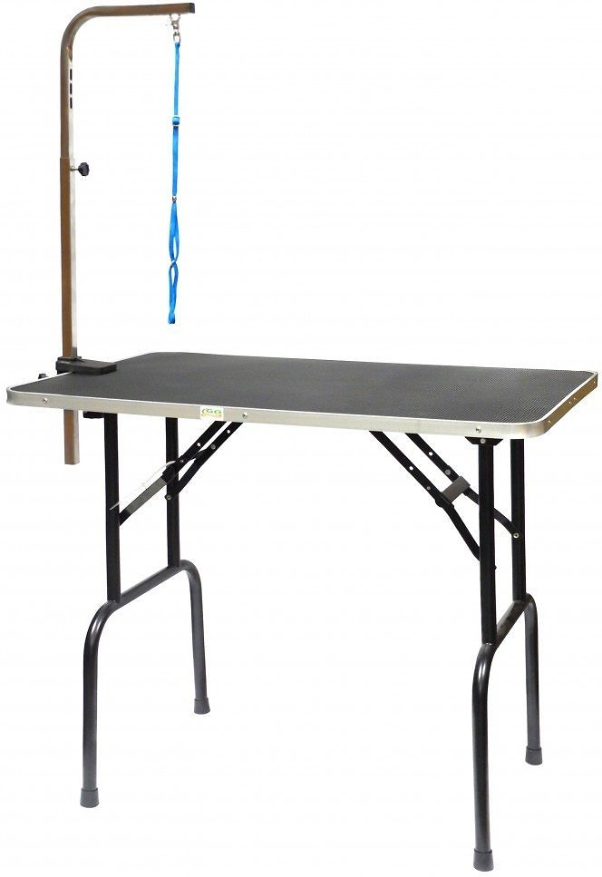 GoPetClub Dog Grooming Table With Arm