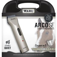 Wahl Arco SE Cordless Horse Clipper, Black/Silver
