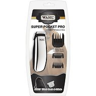 Wahl Super Pocket Pro Battery Powered Horse Trimmer, Black Chrome
