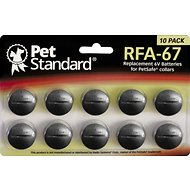 Pet Standard RFA-67 Replacement 6V Batteries for PetSafe Collars, 10 pack