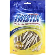 N-Bone Twistix Yogurt Banana Flavor Dog Treats, Mini