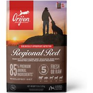 Orijen Regional Red Grain-Free Dry Dog Food, 13-lb bag