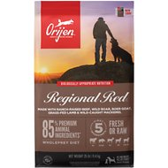 Orijen Regional Red Grain-Free Dry Dog Food, 25-lb bag