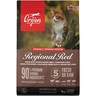 Orijen Regional Red Grain-Free Dry Cat Food, 4-lb bag