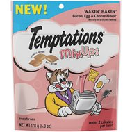 Temptations MixUps Wakin' Bakin' Bacon, Egg & Cheese Flavor Cat Treats, 6.3-oz bag