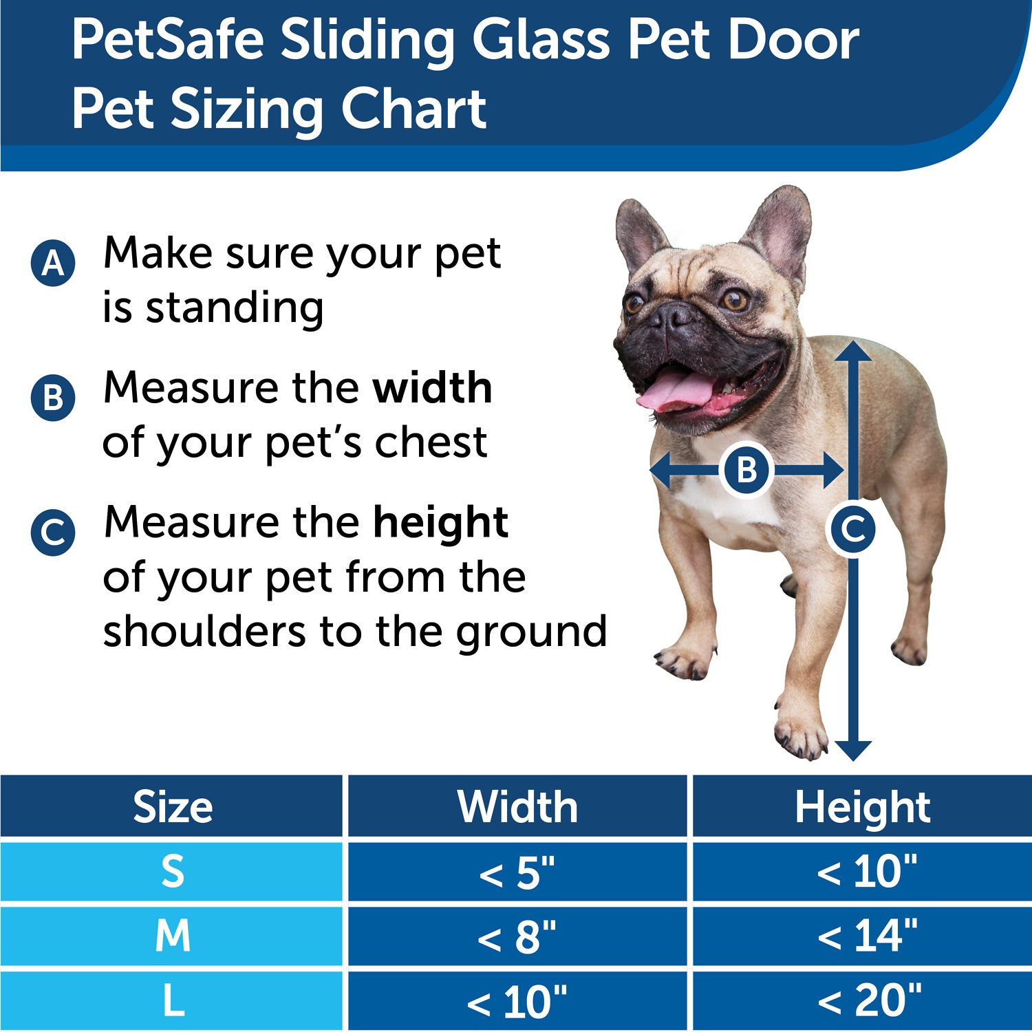 Petsafe Sliding Glass Pet Door Large Chewy Com