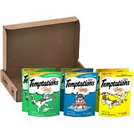 Temptations Classic Variety Pack Cat Treats, 3-oz pouch, case of 6