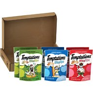 Temptations Mixups Variety Pack Cat Treats, 3-oz pouch, case of 6