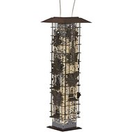 Perky-Pet Squirrel-Be-Gone Wild Bird Feeder, Brown