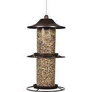 Perky-Pet Panorama Wild Bird Feeder, Brown