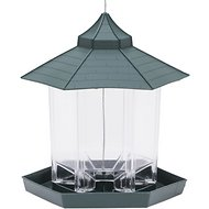 Perky-Pet Gazebo Wild Bird Feeder, Green