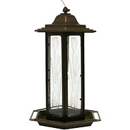 Perky-Pet Tulip Garden Lantern Bird Feeder, Brown