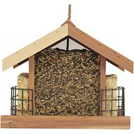 Perky-Pet Deluxe Chalet Cedar Feeder, Wood