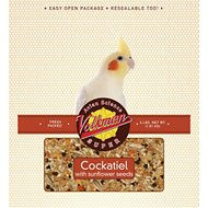 Volkman Avian Science Super Sunflower Seed Cockatiel Food, 4-lb bag
