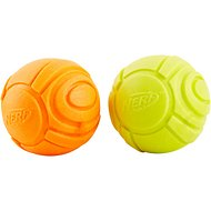 Nerf Dog Chew Solid Foam Sonic Ball Dog Toy, 2 Pack, Small