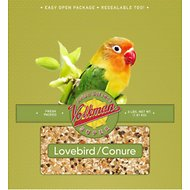 Volkman Avian Science Lovebird & Conure Food, 4-lb bag
