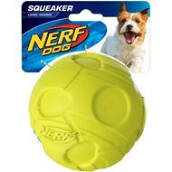 Nerf Dog Squeaker Ball Dog Toy, Large