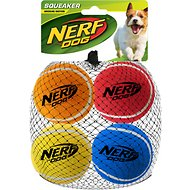 Nerf Dog Tennis Balls Dog Toy, 4 Pack, Medium