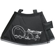 Comfy Cone Collar for Dogs & Cats, Black, X-Small