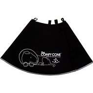 Comfy Cone Collar for Dogs & Cats, Black, X-Large