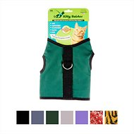 Kitty Holster Cat Harness, Hunter Green, X-Small