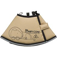 Comfy Cone E-Collar for Dogs & Cats, Tan, Small