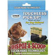Dispoz-A-Scoop Touchless Pick Up Waste Scooper, 250 count