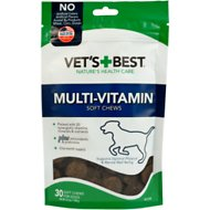 Vet's Best Multi-Vitamin Soft Chews Dog Supplement, 30 count