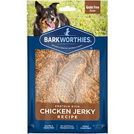 Barkworthies Chicken Jerky Dog Treats, 4-oz bag