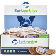 Barkworthies Duck Jerky Dog Treats, case of 100