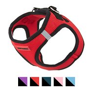 Best Pet Supplies Voyager All Season Pet Harness, Red Base, Medium