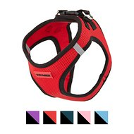 Best Pet Supplies Voyager All Season Pet Harness, Red Base, Large