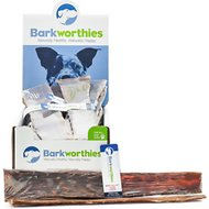 Barkworthies Large Beef Gullet Strip Dog Treats, case of 20