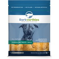Barkworthies Small Pumpkin CBD Dog Treats, 20 count