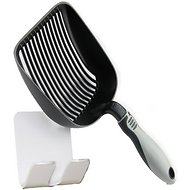 iPrimio Sifter with Non-Stick Litter Scooper, Black