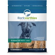 Barkworthies Large Blueberry CBD Dog Treats, 10 count